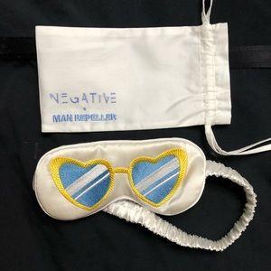Man Repeller x Negative Underwear Sleep Mask - NEW